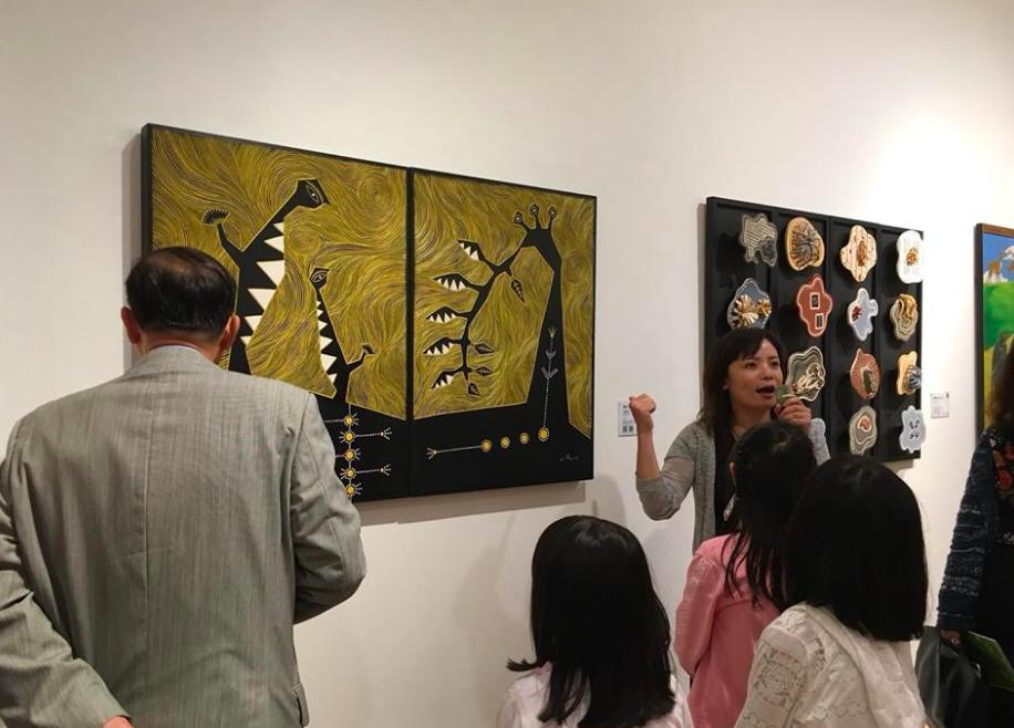 「盛放台灣-台灣當代藝術展」自即日起於新加坡藝廊開展(圖/藝術銀行)