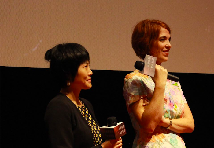 French director Eva Husson (right) (Image by Women Make Waves Taiwan)