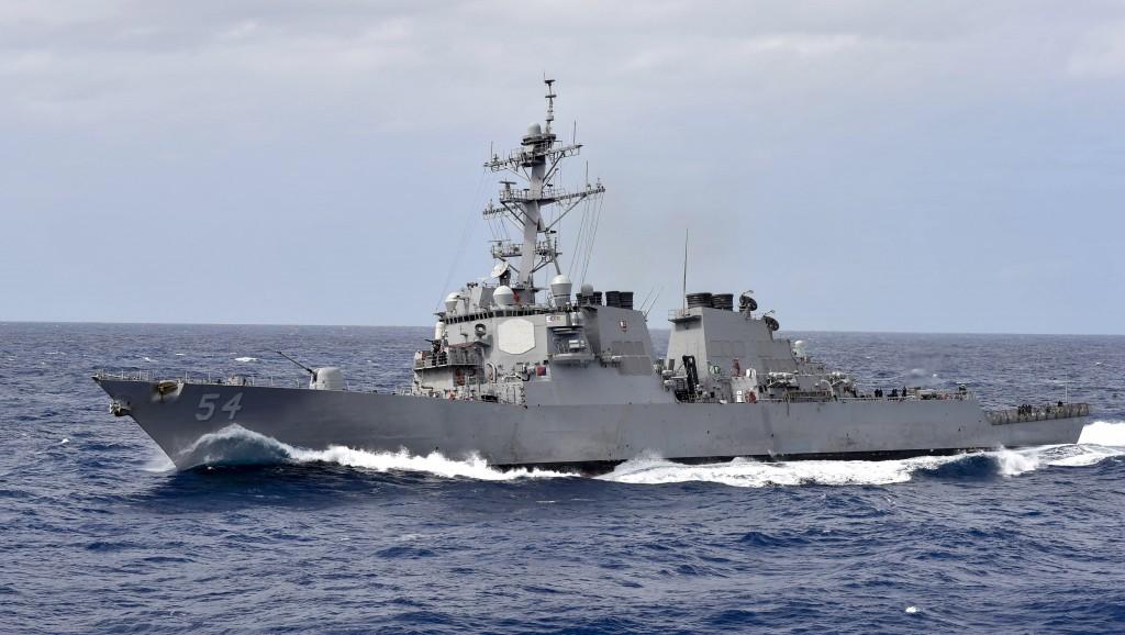 勃克級驅逐艦柯蒂斯·威爾伯號(圖片來源:美國海軍網站)
