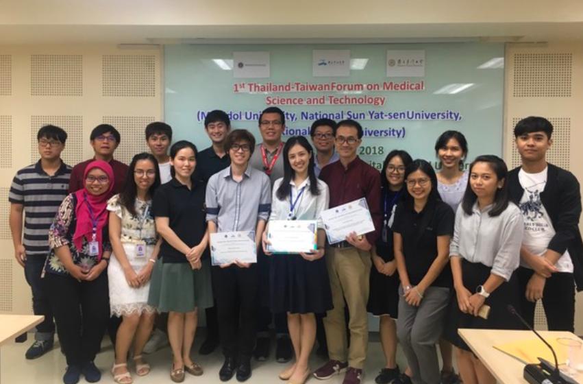 「第1屆泰國臺灣生醫科學與科技論壇」已於泰國落幕(圖/國立中山大學)