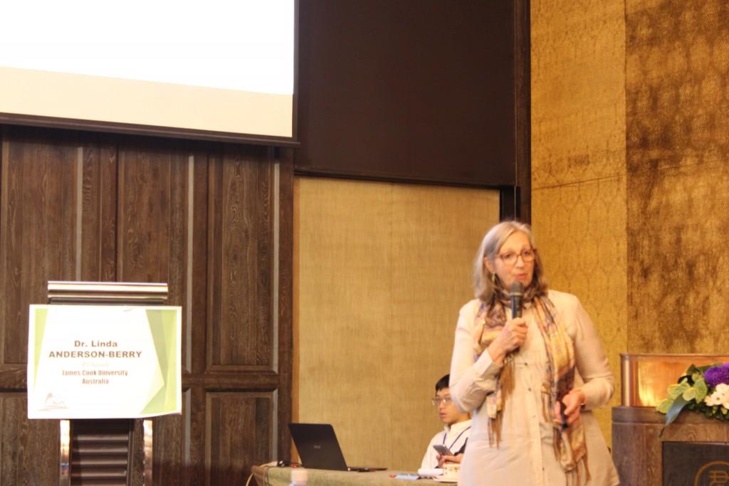 澳洲詹姆士庫克大學副教授Dr. Linda Anderson-Berry。