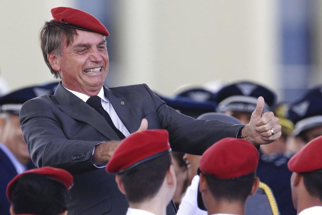 極右派巴西總統候選人波索納洛。(美聯社)