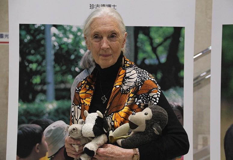 Jane Goodall (Photo by Taiwan News)