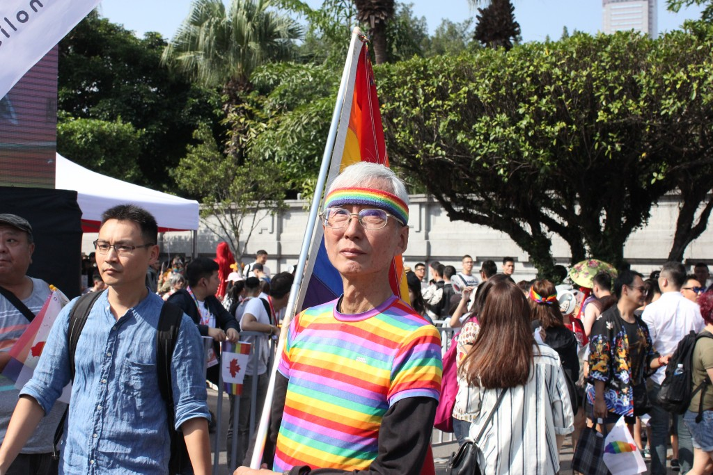 Legendary Taiwanese LGBT rights advocate Chi Chia-wei (祁家威)