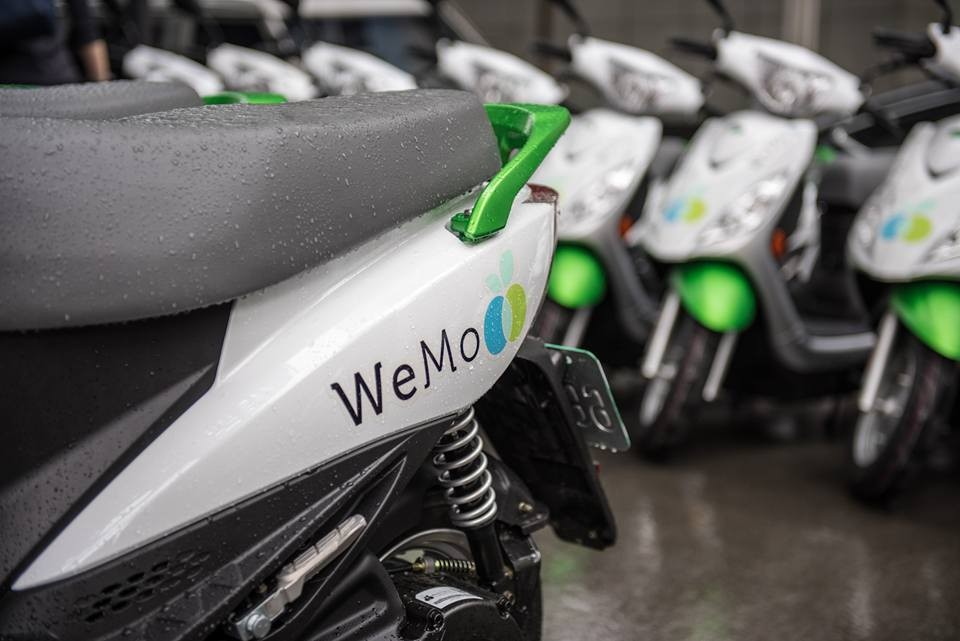 WeMo scooters (Facebook, WeMo Scooter photo)