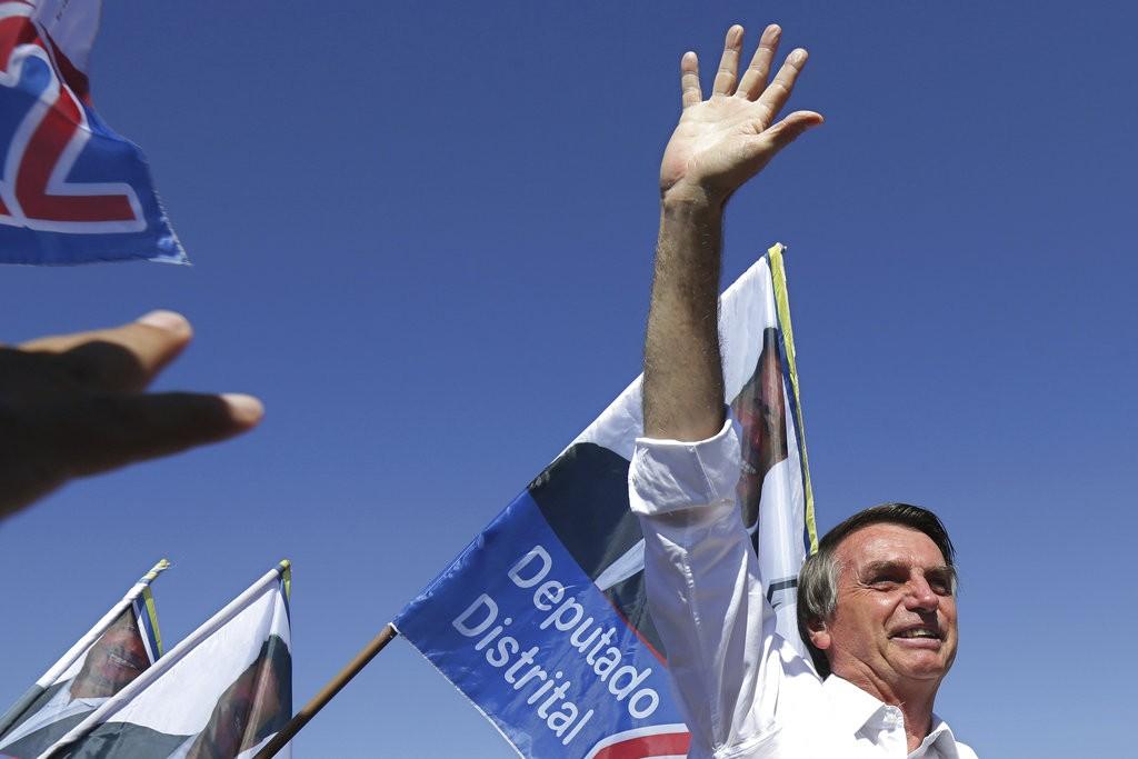 巴希總統當選人波索納洛(圖片來源:美聯社)
