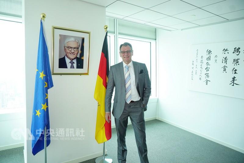 德國駐台代表王子陶(圖片來源:中央社)