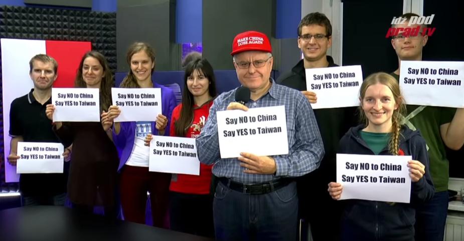 ▲波蘭節目竟然這樣挺臺灣(圖片取自網路)