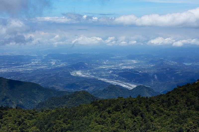 A scene above Dajia River (Photo/Taichung City Government)