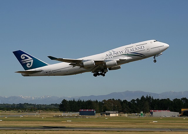 Air New Zealand Boeing 747