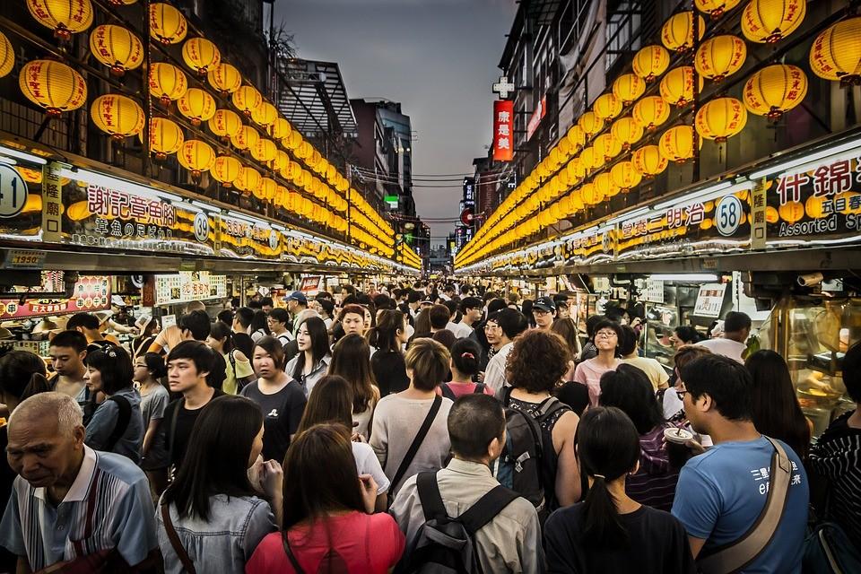 Keelung Night Market (Image from Pixabay user Robert_PastryK)