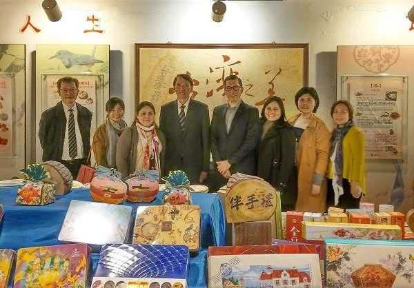 中美洲代表團造訪義美歷史文物館