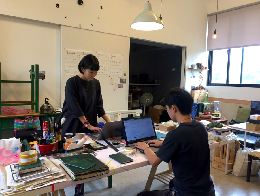 Polymer art studio will launch final show feature the difficulties artists face (image by Taiwan News Lyla)