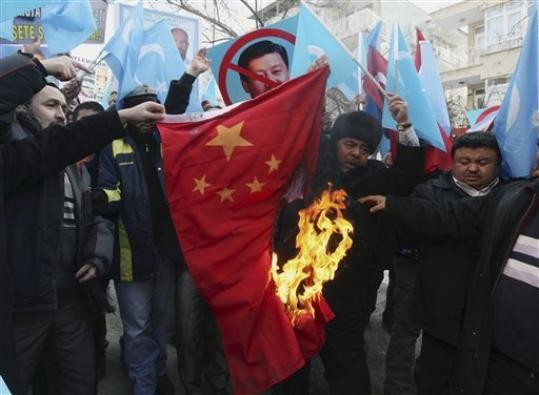 (Photo from the Uyghur American Assoc.)