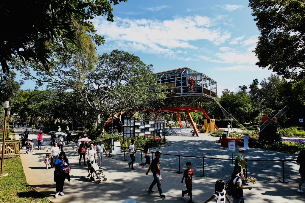 The Holland Pavilion is opened at the Taichung World Flora Exposition on Nov. 3 (Source: NTIO)