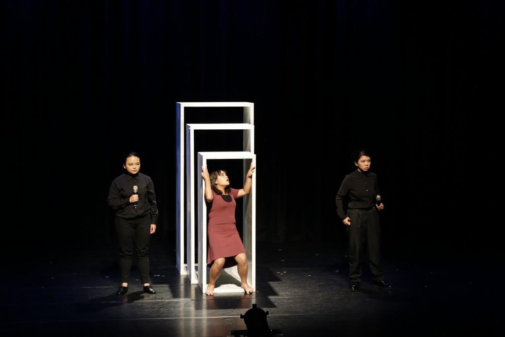《拾蒂》11月3、4日在台北客家文化主題公園─音樂戲劇中心演出3場。(勵馨基金會提供)