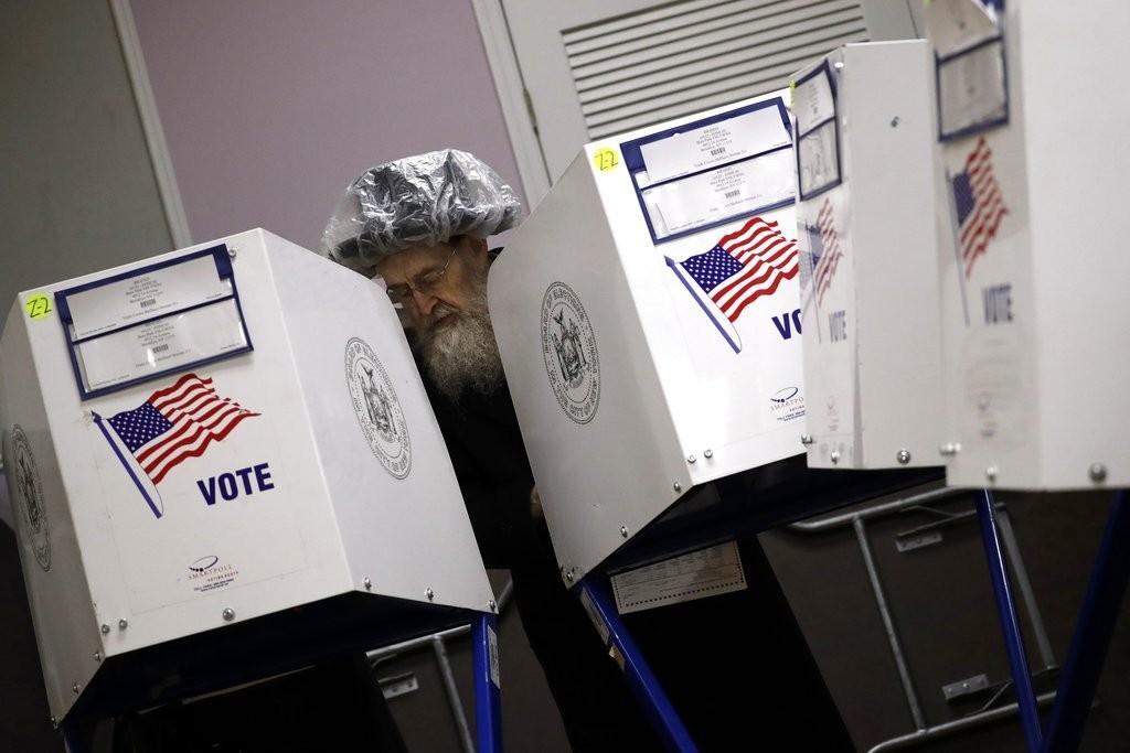 美國2018年期中選舉投票情形(照片來源:美聯社提供)