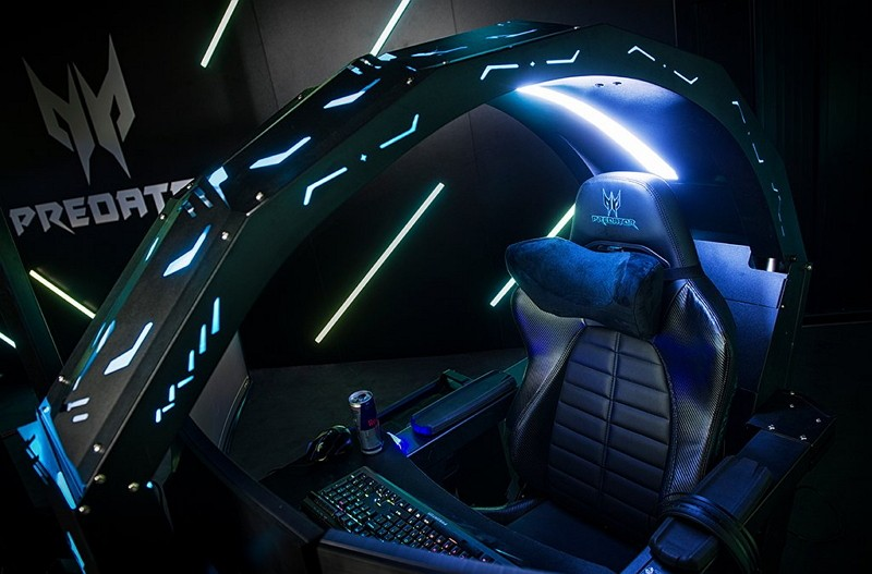 Acer's gaming chair Predator Thronos (Photo/Predator Gaming)