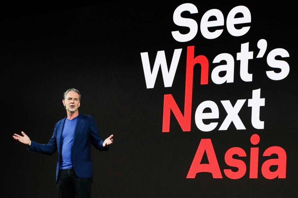 Netflix今天舉行「See What's Next: Asia 2018」節目巡禮。(Netflix臉書粉專)