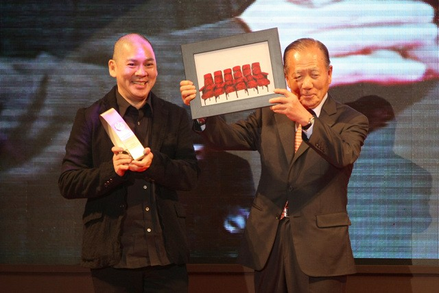 Tsai Ming-liang winning Asian Filmmaker of the Year in 2010