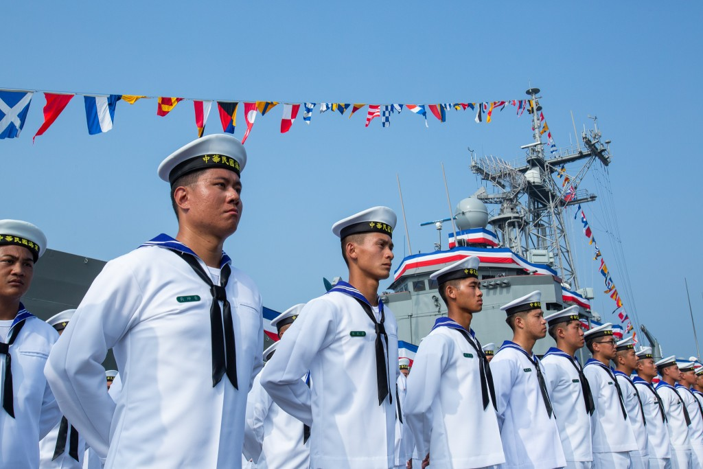 Two frigates were commissioned into the Taiwan Navy on Nov. 8 (image from Office of the President)