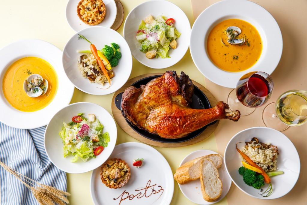 在Port23享用「感恩節雙人套餐」,感受美式鄉村的節慶氛圍。(照片由富邦旅管提供)