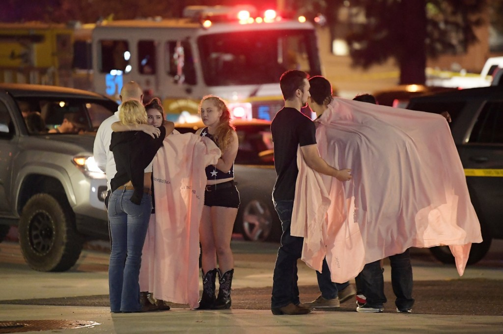 Police said 13 people died after a gunman opened fire at a country dance bar in Southern California.