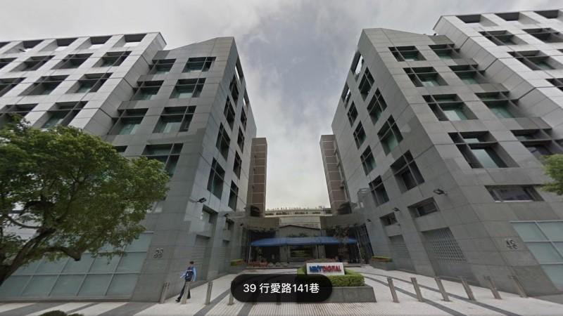 壹傳媒在內湖行愛路的總部大樓。(翻攝自Google地圖)