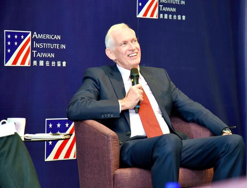 AIT主席:台灣成為全球被假新聞傷害最嚴重的國家,非常危險!(圖/清大)