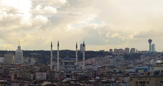 Ankara, Turkey (Image from Pixabay user schweinalp)