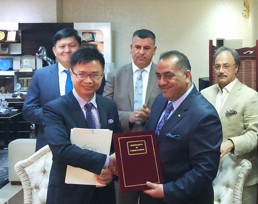Taiwan and Iraq ink agreements to support cooperation, reconstruction 5be8ef19528e1