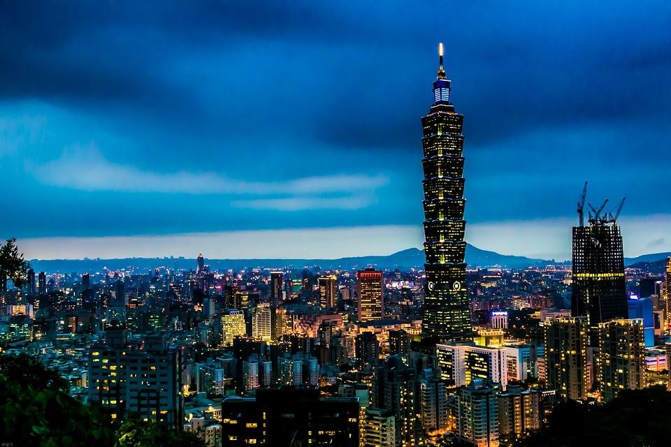 Taipei skyline (Image from MaxPixel)