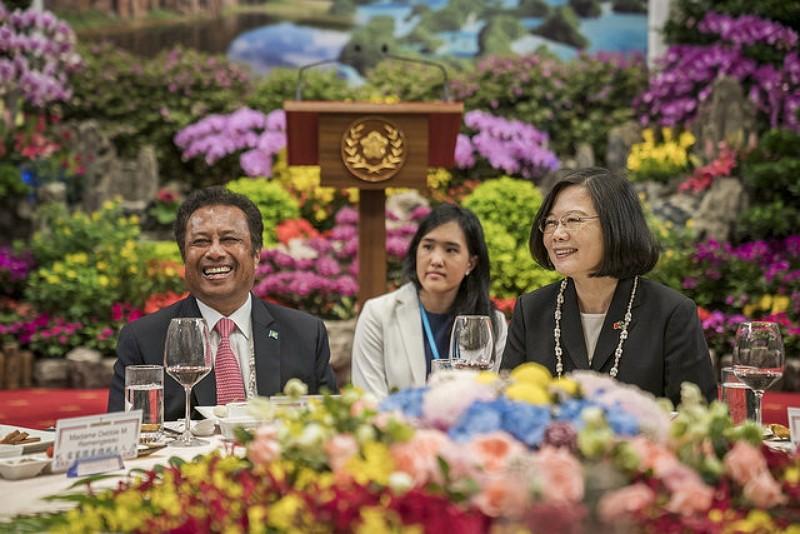 總統蔡英文宴請帛琉總統雷蒙傑索(圖/總統府)