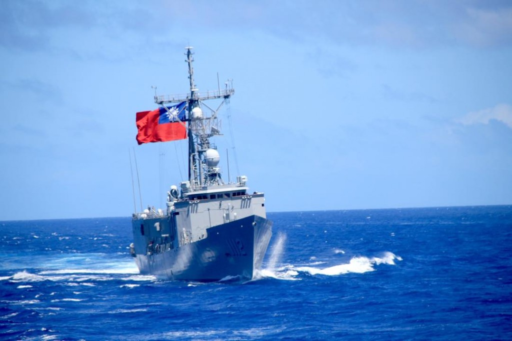 A Taiwan Navy Perry-class frigate(Image from Taiwan Navy)