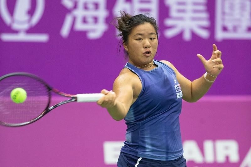 Liang En-shuo (photo taken from event's Facebook at https://www.facebook.com/oecopen/)