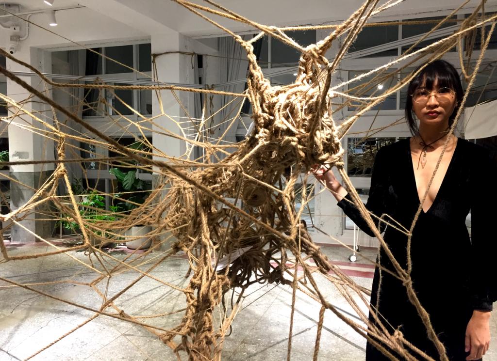 台灣新生代藝術家,透過藝術與社會說抱歉!(圖/台灣英文新聞Lyla)