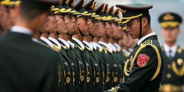 China's People's Liberation Army.
