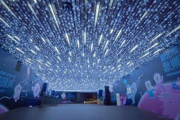 新北耶誕城於明(16)日周五點燈。(新北耶誕城提供)
