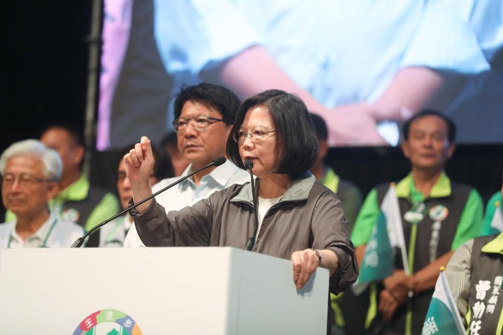 總統兼民進黨主席蔡英文(照片翻攝自蔡英文臉書)