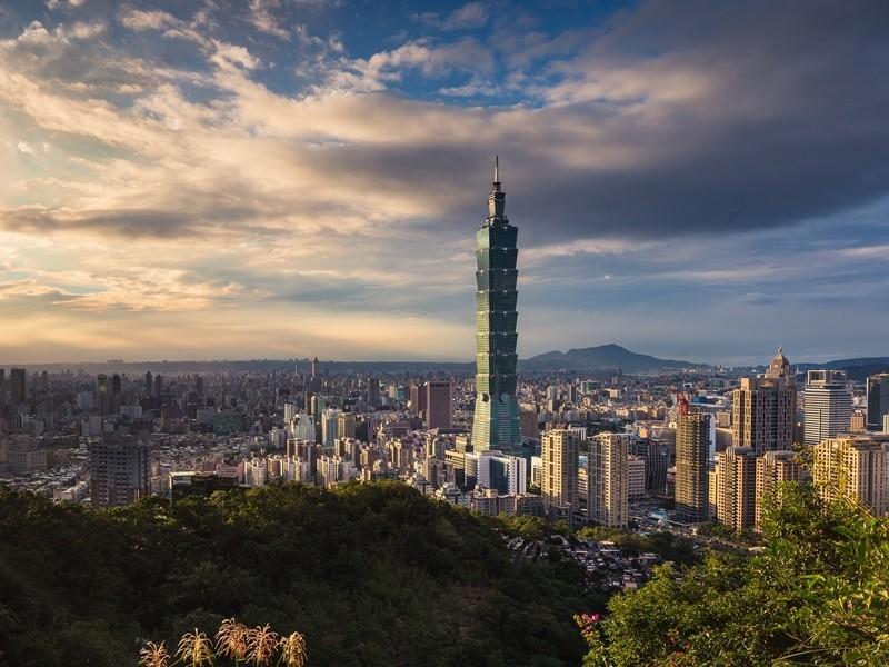Taipei skyline. (Image from Unsplash)