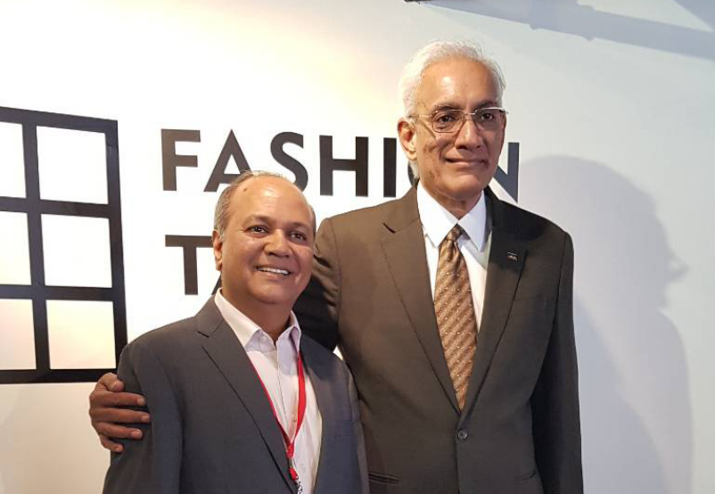 Ramesh Narayan (left) with Srinivasan K. Swamy (right) (Image by IAA Taipei)