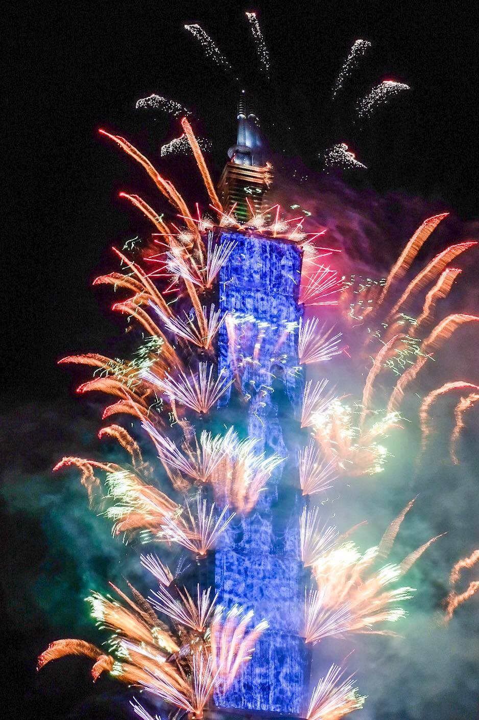 Taipei 101 New Year's Eve fireworks display, festivities to be expanded