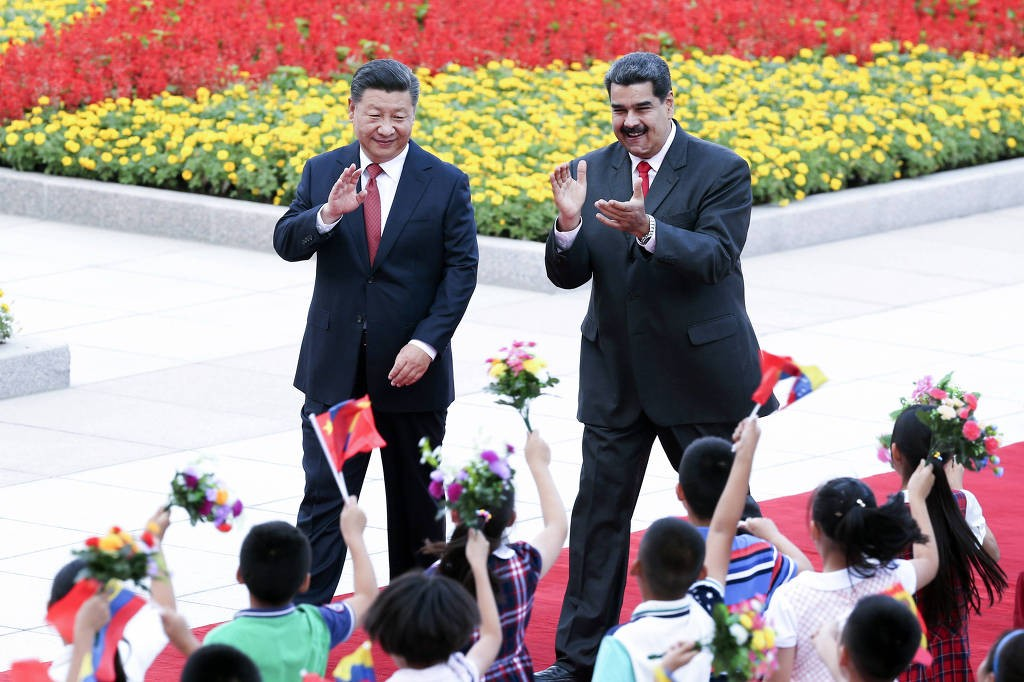 Xi Jinping and Nicolas Maduro, Sept. 2018