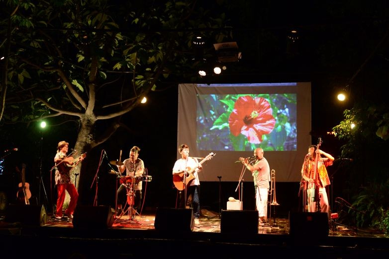 Musicians from home and abroad perform at Tiehua Music Village. (Image courtesy of Tiehua Music Village)