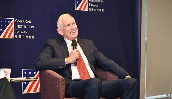 AIT Chairman Moriarty (Image from National Tsing Hua University)