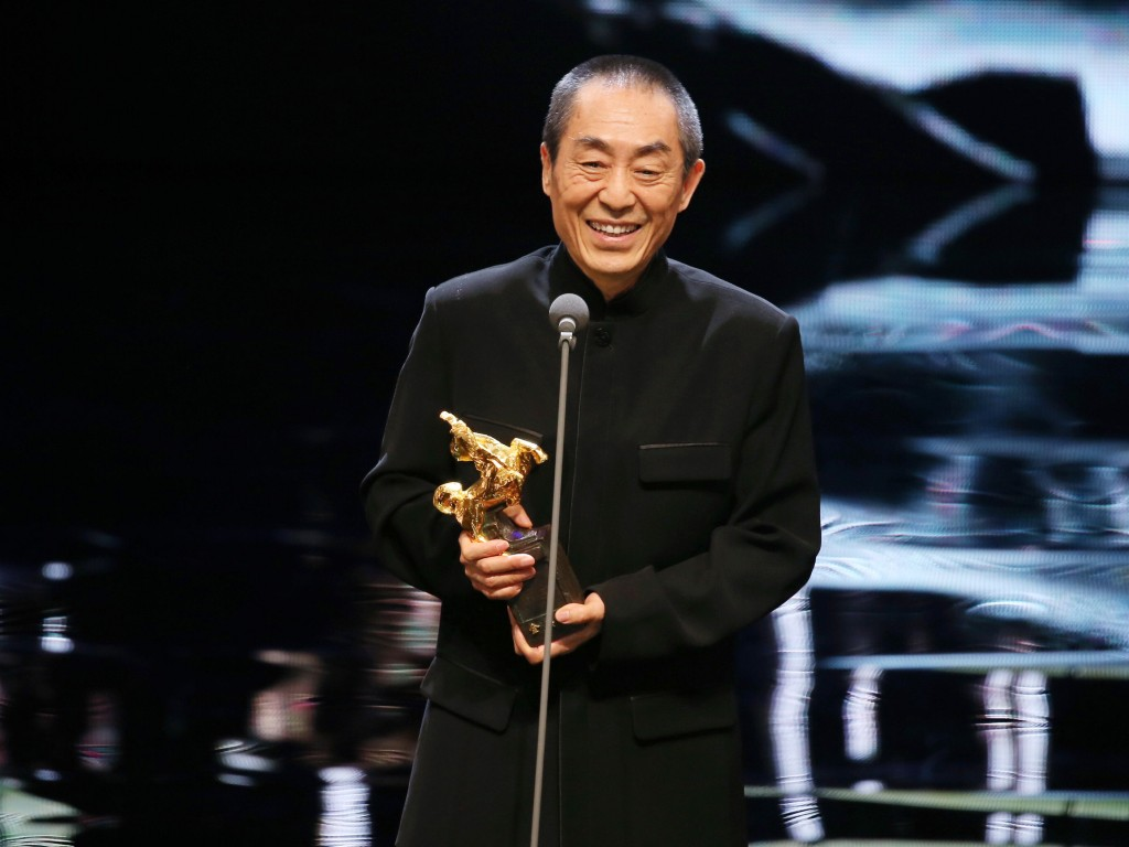 Chinese director and producer Zhang Yimou (張藝謀)