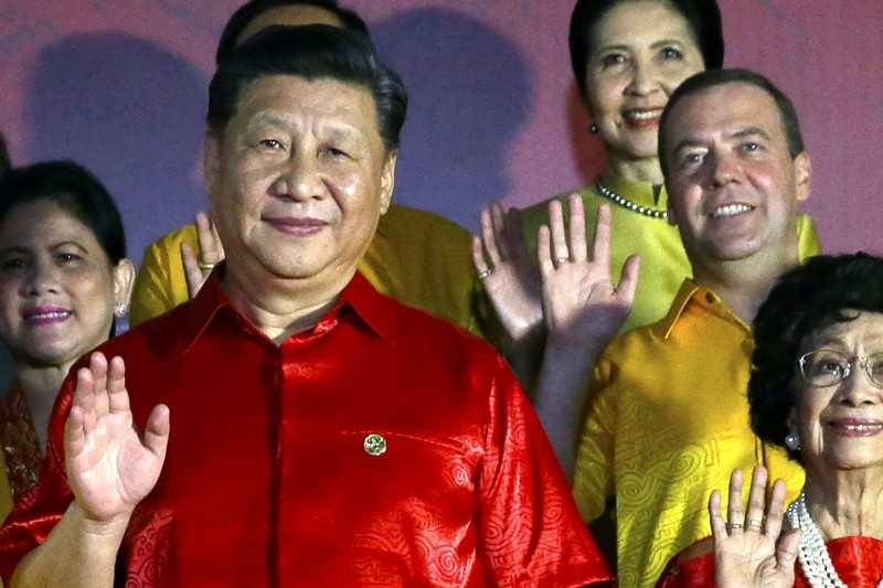 中國國家主席出席APEC(圖/美聯社)