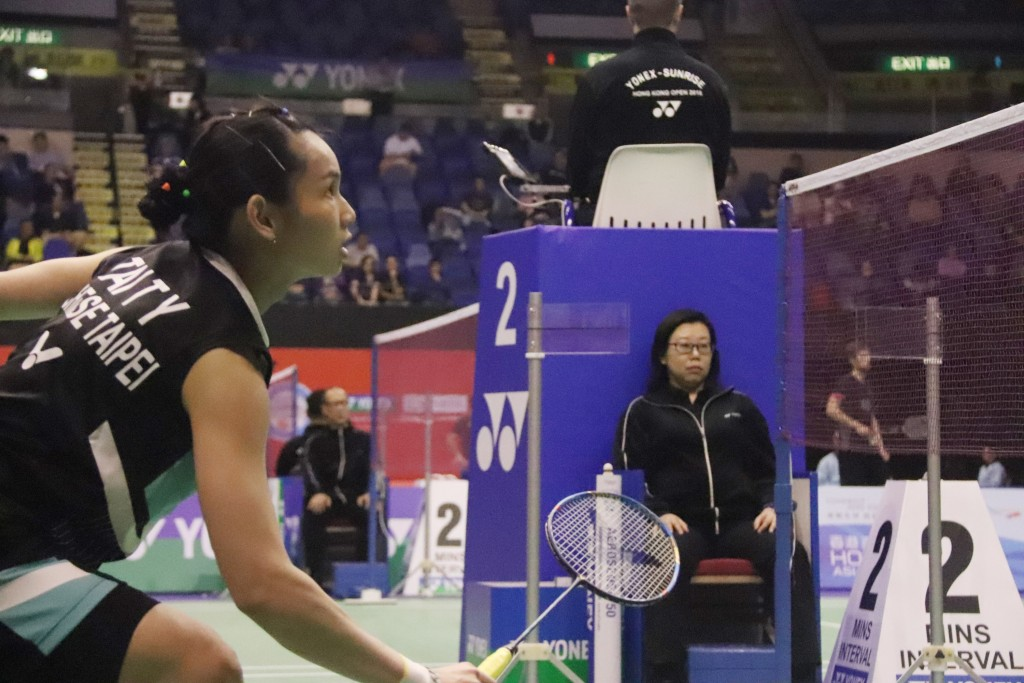 Tai Tzu-ying in competition on Nov. 11