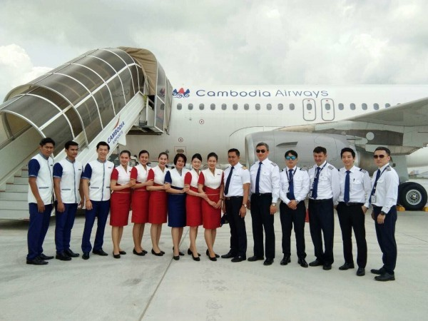 Image from Cambodia Airways