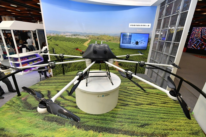 ITRI's Hybrid Power Drone with High Payload and Duration (photo courtesy of ITRI)